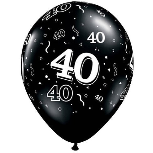 Top 10 40th birthday decorations black for 2020