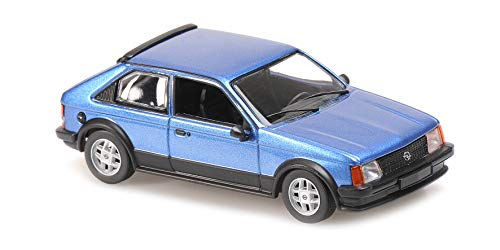 paul's model art gmbh Minichamps 940044120 - Opel Kadett D SR Blue Metallic 1982 - Scala 1/43 - Modello da Collezione