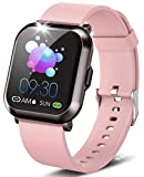 "DoSmarter Fitness Watch, 1.3"" Touch Screen Smartwatch with Heart Rate Blood Pressure Monitor,..."