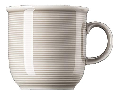 Rosenthal - Becher mit Henkel, Henkelbecher, Kaffeebecher - Trend Colour - Moon Grey - Porzellan - 360 ml