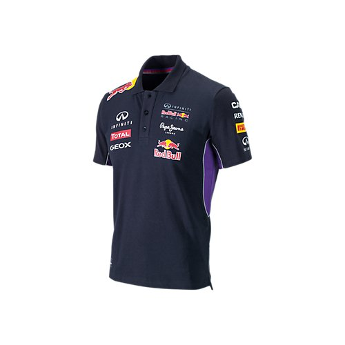 Red Bull Racing Teamline Polo para Hombre, Azul/Rojo, M: Amazon.es ...