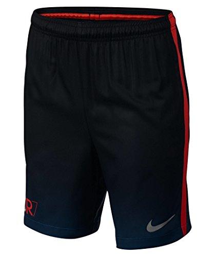 Nike Kids CR7 Squad Football Short 848427-457 INDUSTRIAL BLUE/METALLIC SILVER XL
