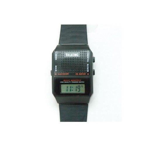 Talking Wrist Watch-Spanish Square Face