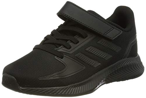adidas RUNFALCON 2.0 C Running Shoe, Core Black Core Black Grey Six, 1 UK