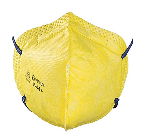 Party-Hut V-410-V Reusable Anti Air Pollution Face Mask 2 Bag Filters (Pack of 1)