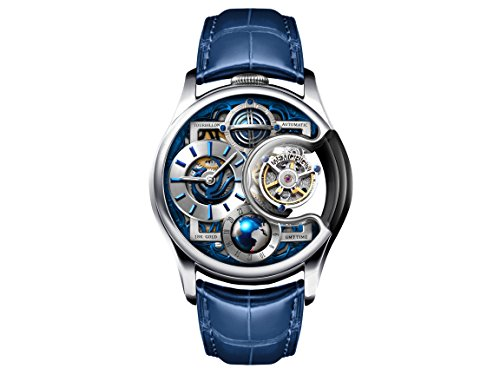 Memorigin Stellar Series Imperial Tourbillon Uhr Silber