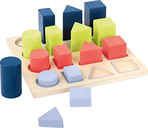 small foot 11100 Puzzle à encastrer Géométrie \