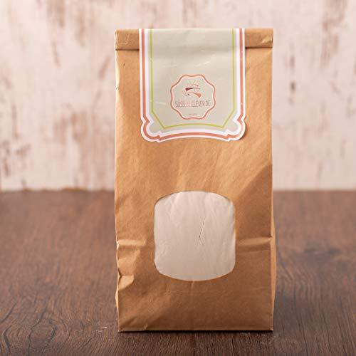 süssundclever.de® Reismehl Vollkorn Bio | 1kg | Premium Qualität: hochwertiges Naturprodukt | plastikfrei abgepackt in ökologisch-nachhaltiger Bio-Verpackung | Vollkorn-Reismehl (1000.00)