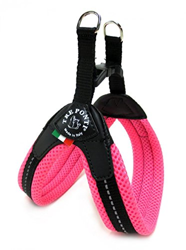 Tre Ponti tf223 a Easy Fit Mesh Fix Neon, Taglia 2.5, Colore: Rosa