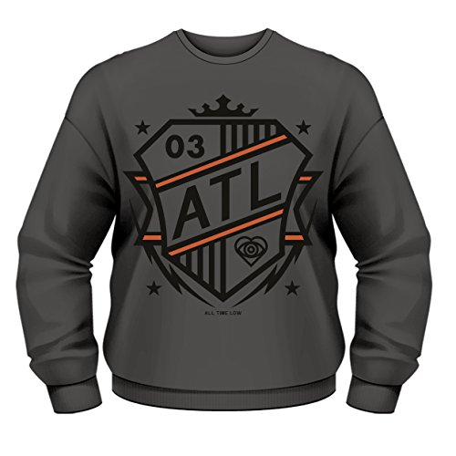 Plastic Head Herren All Time Low Shield CSW Sweatshirt, grau, XL