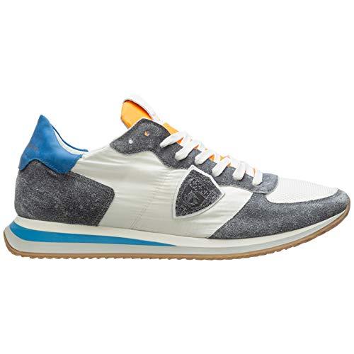 Philippe Model Herren trpx Sneaker Bianco 41 EU
