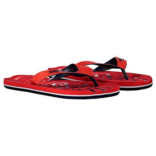 Superdry Herren CLASSIC SCUBA FLIP FLOP Slipper, Red, Large EU