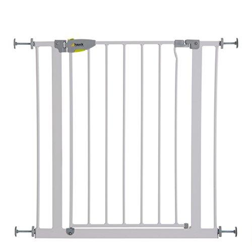 Hauck Squeeze Handle - Barrera de seguridad para escaleras, materiales de...