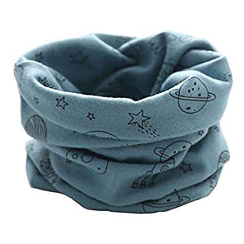 PAADIYA Boomly Autunno e Inverno Calda Multifunzione Sciarpa per bambini Loop o-ring Sciarpa Infinita Scaldacollo Sciarpa in Cotone