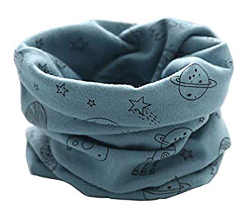 Boomly Bebé Pañuelos de Cuello De Cuello Collar Invierno Bufandas O Anillo Cuello Chal Para Niño Y Niña, Niños (Azul#2)