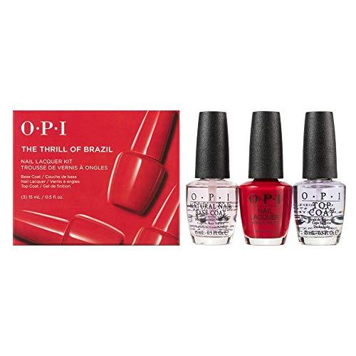 OPI Kit per Manicure - Confezione da 3 x 15 ml