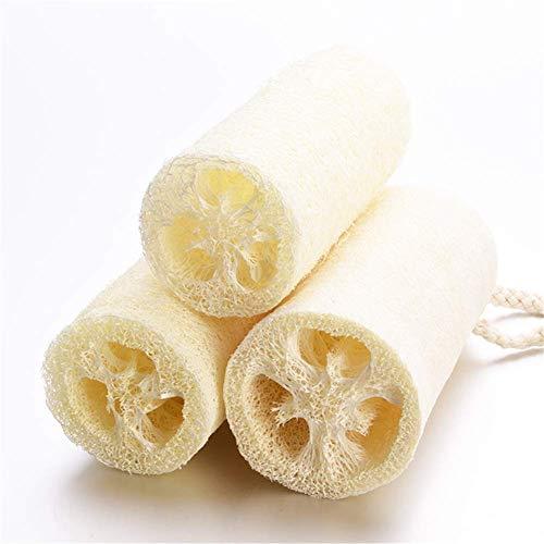 N / C Toalla de Cocina, Esponja Vegetal, Nudos de Esponja Vegetal, Delicada y Resistente, fácil de Colgar, Adecuada para bañar y Lavar Platos
