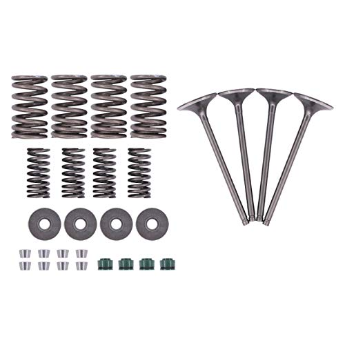 MOTOKU Cylinder Intake and Exhaust Valves kit for Honda Sportrax 400EX...