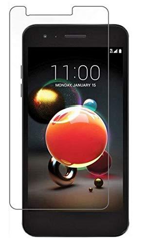 anzeal [6 Pack LG K9 Tempered Glass Screen Protector,[Anti-Scratch][Anti-Fingerprint][Scratch Resist] Tempered Film Glass for LG K9 [Non-Full Screen]