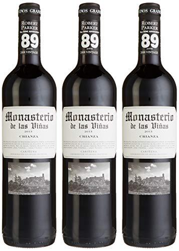 Monasterio de las Vinas Crianza  spanischer Wein (3 x 0.75 l)