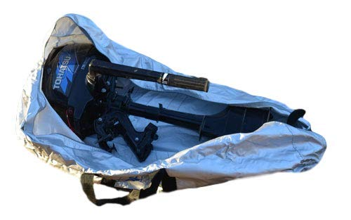 Ducksback waterproof outboard full engine cover and carry bag suitable for 2-10 HP Outboard motors