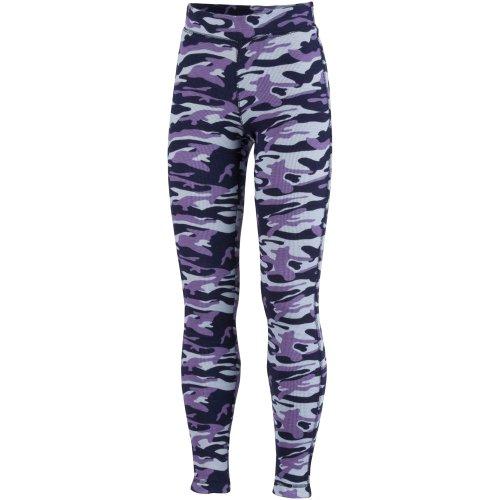 Columbia Sportswear Cozy Cabin Thermal Leggings 7/8 Eclipse Blue Camo Print