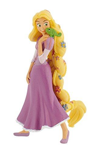 Disney Princesas Figura Rapunzel con Flor (Bullyland 12424)