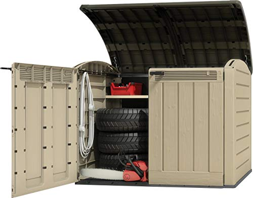 Keter Woodland Ultra XL 3.7 x 5.8ft (1.1 x 1.7m) Store It Out Horizontal Storage Shed