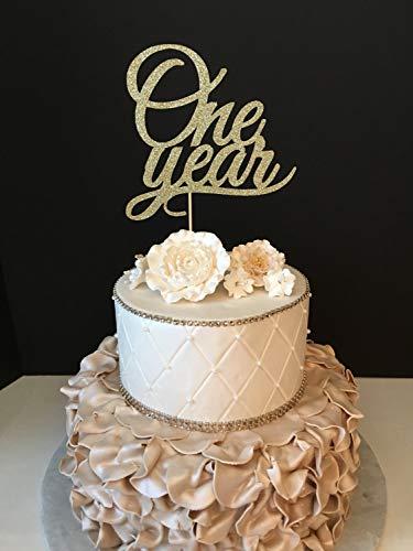 Monsety een jaar jubileum partij bruiloft verjaardag 1 jaar bruiloft jubileum taart topper voor bruiloft verjaardag taart topper grappige bruiloft cadeau voor het paar