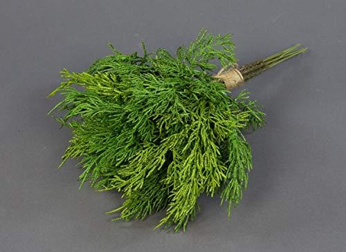 Seidenblumen Roß Zedernbund/Tannenbund 30x28cm CG künstliche Tanne Zeder Bund aus Zedernzweigen Tannenzweigen