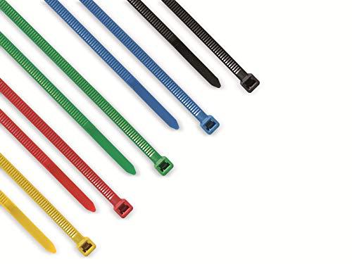 Kabelbinder farbig sortiert 50 Stück