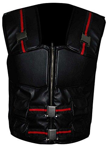 Blade Elegante Disfraz Wesley Snipes Casual Wear Chaleco de cuero sinttico