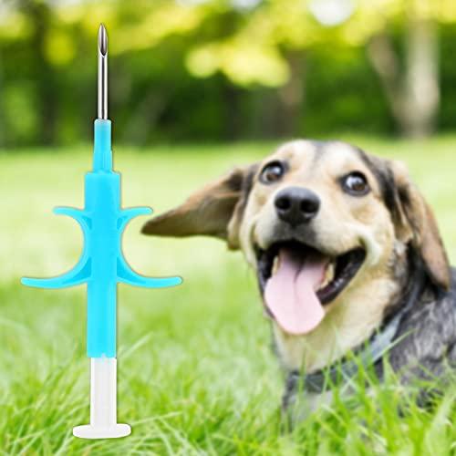 Pwshymi Implante de Vidrio de tamaño pequeño sin Fuente de energía Interna de gestión eficaz para la mayoría de Las Mascotas, cría de Animales, Peces, Vida Silvestre