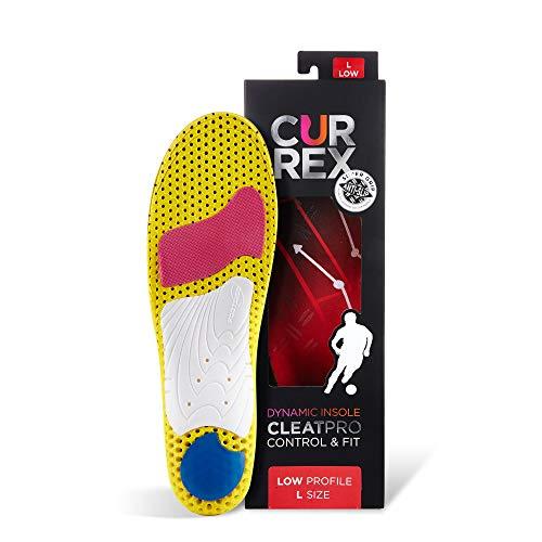 CURREX CleatPro Sohle Low Profile. Deine neue Dimension des Fußballs. Performance Einlegesohle für Fußball- oder Stollen-Schuhe. Gr EU 44,5-46,5