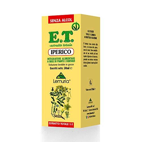 IPERICO E.T. estratto totale 1:1 senza alcol Integratore Alimentare a Base di Piante e Derivati - 33 ml