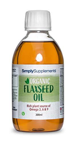 Aceite de Linaza ¡Bote para 2 meses! Apto para veganos - Bote de 300 ml - Simply Suplements