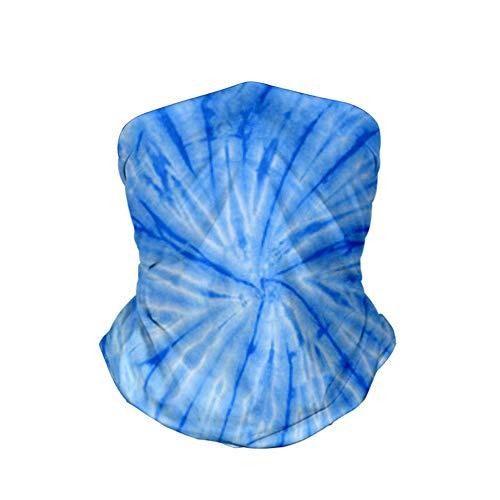 Zomer sjaal/nek/gezichtsmasker stofdicht en Sand-Proof Tie-Dye Sport hoofdband geschikt voor buiten rijden en hardlopen,2