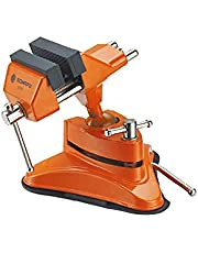 Somafix Vacuum Base Vice, Orange