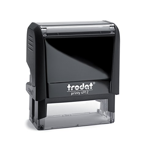 Trodat Printy 4912 Personalized Individual Custom Self Inking Stamp (3/4' x 1-7/8')