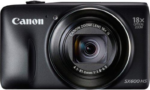 Canon Powershot SX600 HS - Cámara compacta de 16.6 MP (Pantalla de 3