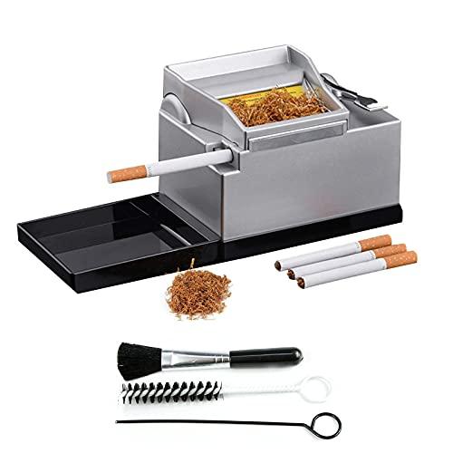 WANLN Maquina De Entubar Cigarrillos Electrica Maquina Tabaco Portátil Máquina Profesional para...