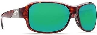 Sunglasses Costa Del Mar INLET IT 10 OGMGLP TORTOISE GREEN MIR 580Glass