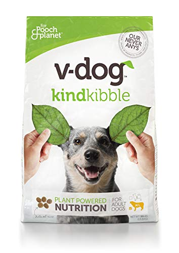 V-Dog Vegan Kibble Dry Dog Food, 30 lb