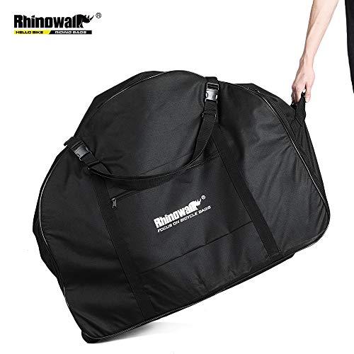 SHINYEVER Folding Bike Travel Bag, Fietstas Verdikkende bagagetas, Fietstas Fietstas Vouwen Reistas Buiten Draagtas geschikt voor 20-22 inch Vouwfietsen