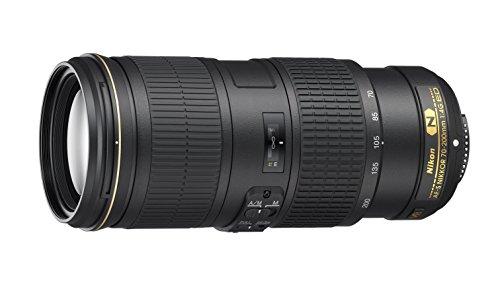 Nikon Obiettivo Nikkor AF-S 70-200 mm f/4G ED VR II, Nero [Nital Card: 4 Anni di Garanzia]