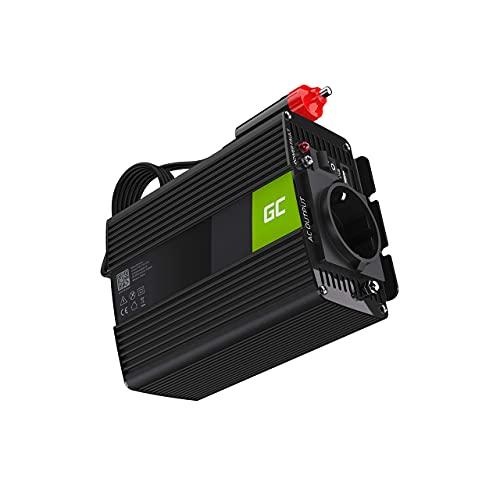 Green Cell® 150W/300W 12V auf 230V Reiner Sinus Volt kfz Spannungswandler Wechselrichter Konverter Pure Sine Wave Power Solar Inverter DC AC Umwandler Stromwandler Zigarettenanzünder Steckdose