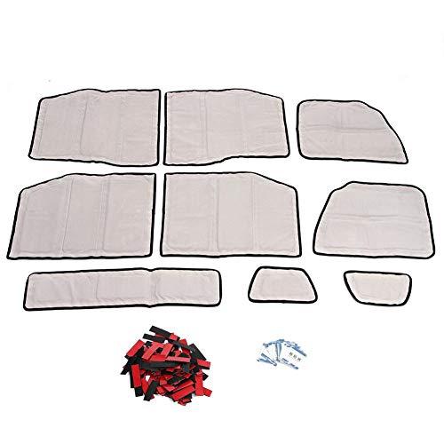 Gorgeri auto isolerende katoen, isolatieschuim van isolatieschuim, 9 stuks geschikt voor deur JL4