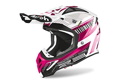 Airoh Motocross-Helm Aviator 2.3 Pink Gr. L