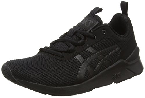 ASICS Herren Gel-Lyte Runner H6K2N-9090 Low-Top, Schwarz (Black/Black), 45 EU