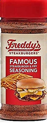 Freddy's Steakhouse Famous Steakburger and Fry Seasoning 8.5 Oz